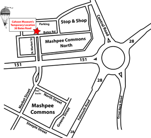 Mashpee Commons Map
